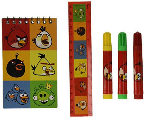 Stationery Set | Angry Birds Collection | Party Accessory