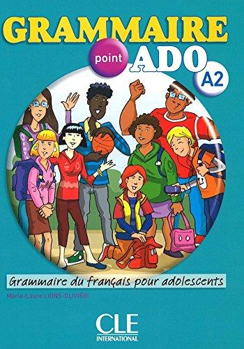 Grammaire Point Ado Niveau A2 Livre Cd Grammaire Du