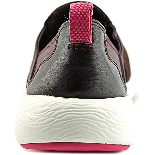 Aqua Slip Snake Aubergine M on Leather Clarks Women's 8 Sneaker Cowley US Eqpxgn4wR