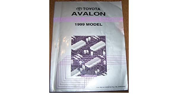 1999 Toyota Avalon Electrical Wiring Diagram Repair Manual Toyota