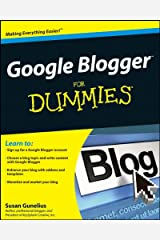 Google Blogger For Dummies Kindle Edition