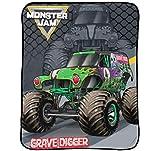 Monster Jam Slash Throw Blanket - Measures 46 x