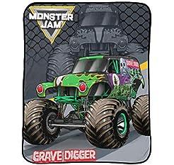 Monster Jam Slash Throw - Measures 46 x ...