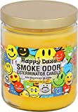Smoke Odor Exterminator 13oz Jar Candles Happy Daze, Assortment (6) Happy Daze, Rasta Love, Frangipani, Harvest Cider, Peace & Love & Nag Champa.