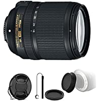 Nikon AF-S DX NIKKOR 18-140mm f/3.5-5.6G ED Vibration Reduction Zoom Lens with Auto Focus for Nikon D7100 D3200 with Ultimate Accessory Bundle