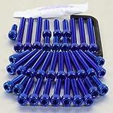 Aluminium Engine Kit MZ Scorpion Sport Blue