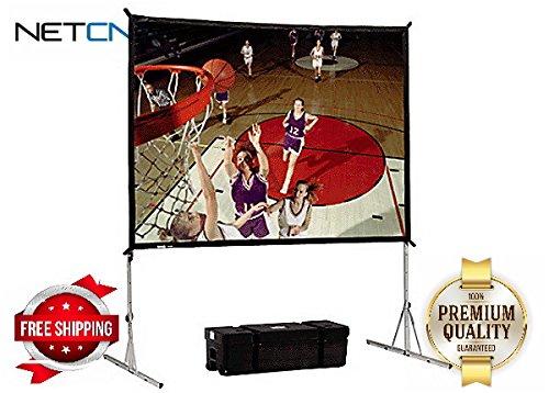 Da - Lite Fastfoldデラックス画面システム103 x139」プロジェクタスクリーン – by NETCNA B01LB97F06