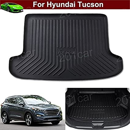 Amazon Com 1pcs Luxury Leather Car Boot Mat Boot Tray Rear Trunk