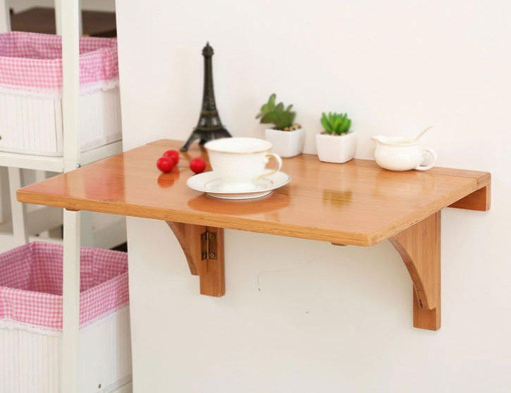 ホームアクセサリー ウォールマウントソリッドウッドウォールテーブル折りたたみテーブルダイニングテーブルウォールテーブルシンプルな折り畳みテーブルサイズオプション (サイズ さいず : 100*45cm) B0783MNC68   100*45cm