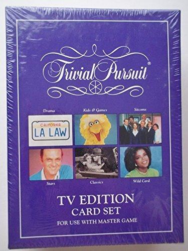 Horn Abbot Trivial Pursuit TV Edition Card Set