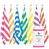 Dock & Bay Quick Dry towel for Beach (Pink - Extra Large 78x35) - sand proof beach mat, fast drying towels