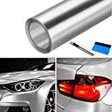 NewL Clear Bra Paint Protection Bulk Vinyl Wrap Film Including 3M Squeegee and Black Felt Applicator (30cm x 300cm)