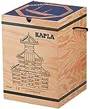 カプラ KAPLA 280 (積み木/白木/木のおもちゃ)+デザインブック(上級・青) 木箱入り 【正規輸入品】
