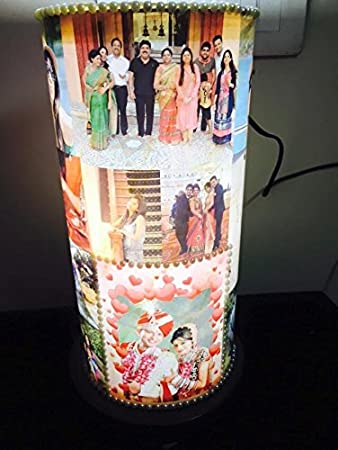 Buy craft n creation personalized 14 inch lamp shades craft n creation personalized 14quot inch lamp shades personalized led photo lamp night aloadofball Image collections