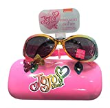JoJo Siwa Bow Sunglasses &Hard shell Carrying Case Set - 100% UVA & UVB Protection Girls 4 - 16