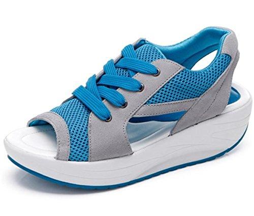 (ダダウン)DADAWEN レディース サンダル 女の子 厚底 サンダル 身長アップ 美脚 軽量 歩きやすい 疲れにくい 通勤 通学