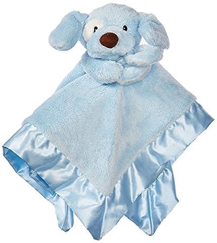 Gund Baby Spunky Dog Lovey Toy, Blue - Blue Puppy Plush