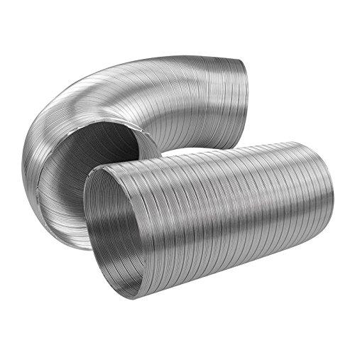 Flexible Aluminium Air Ducting Ø 125 (5') 1meter Ventilation Accessory Alloy Vent Tube Hose Duct Access Panels UK