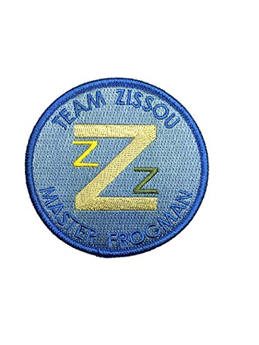 The Life Aquatic Team Zissou Master Frogman Embroidered Patch - By Patch Squad