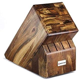 Amazon.com: Wüsthof bloque para cuchillos, acabado de madera ...