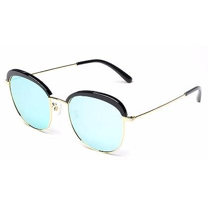 83436e6daa775 Gafas de sol polarizadas para mujer Acetato de fibra y marco de metal Lente  TAC Brillante