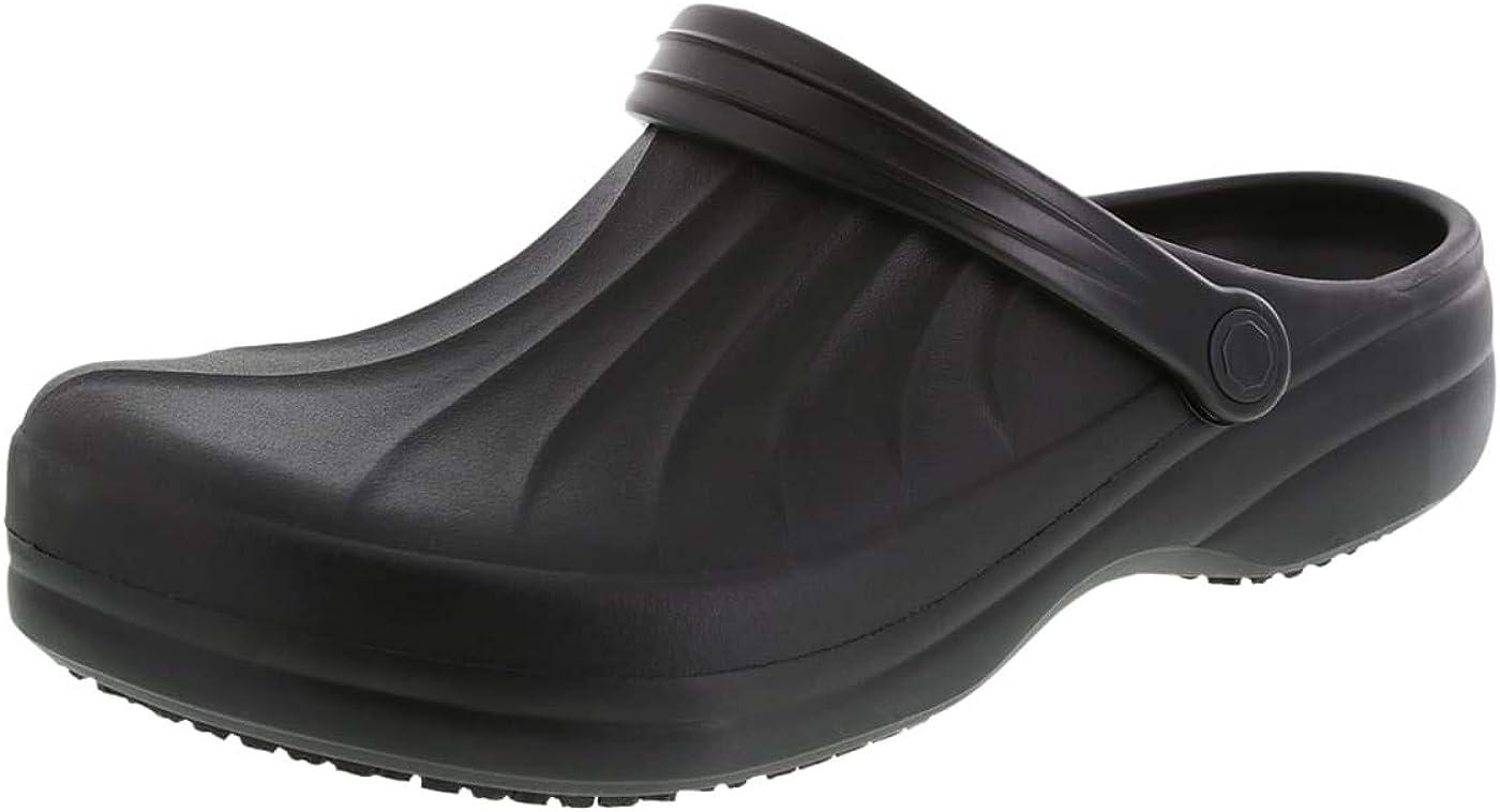 safeTstep Slip Resistant Mens Complete Clog