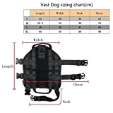 xhorizon Army Tactical Dog Vests, (TM) XH8 1000D