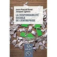 Responsabilité sociale de l'entreprise [nouvelle édition]