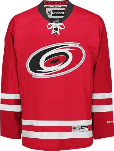 NHL Carolina Hurricanes Men's Center Ice Team Color Premier Jersey, Red, Large