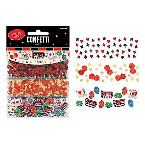 Casino Party Confetti, 1.2