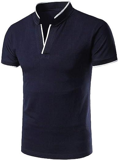 Sylar Casual Polo Manga Corta para Hombre Camiseta de Algodón Slim ...