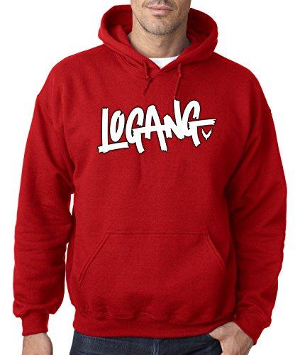 New Way 824 - Adult Hoodie Logang Logan Paul Maverick Unisex Pullover Sweatshirt XL - Men Maverick