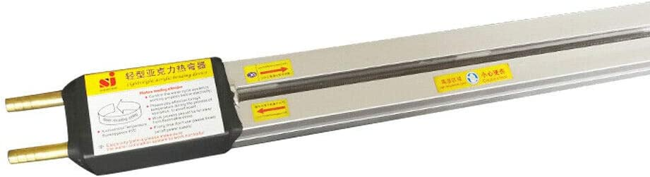 220V 60cm Acr/ílico PVC Pl/ástico Dobladora Calefacci/ón Calentador Dobladora