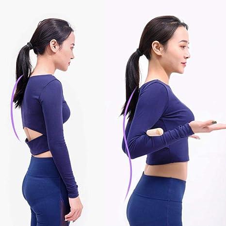 Youngsown Bastone Yoga Bastone Yoga Rullo Yoga Bastone di Legno Bastone di Legno Trattamento del gobbo Applicabile a chiunque