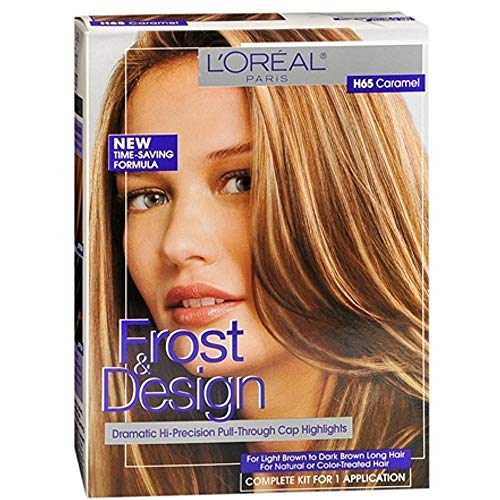 L#039Oreal Frost amp Design Highlights H65 Caramel 1 Each Pack of 3