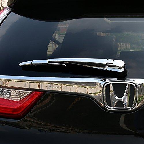 Chrome Styling Rear Trunk Window Wiper Moulding Trim For Honda CRV CR-V 2017 2018