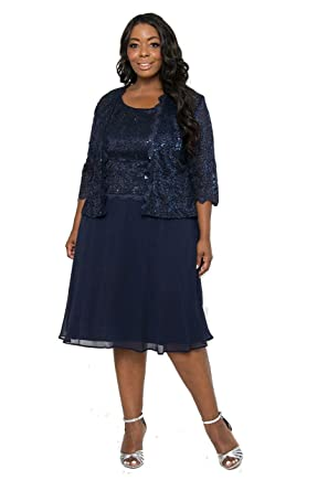 7bb92b02413 R M Richards Short Mother of The Bride Cocktail Dress at Amazon Women s  Clothing store