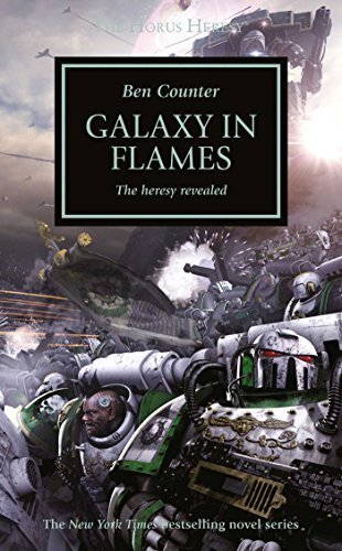 book cover of Galaxy in Flames