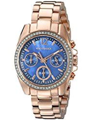 Wittnauer womens WN4041 16mm Stainless Steel Rose Gold Watch Bracelet
