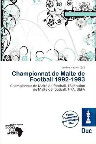Read Championnat de Malte de Football 1992-1993 pdf ebook
