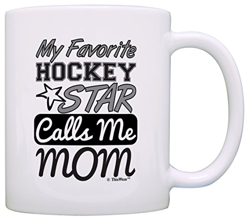Hockey Favorite Calls Coffee White