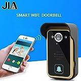 WiFi Wireless Video Intercom Doorbell Wireless Doorbell Mobile Phone APP Remote Control Unlock Remote Monitoring