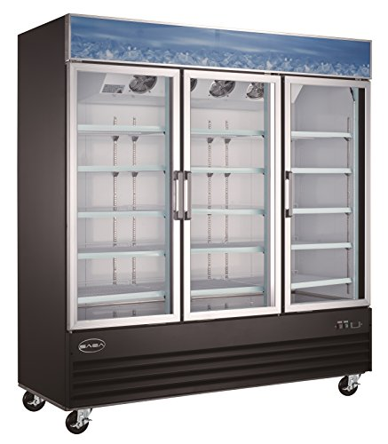 3 door glass cooler - 4