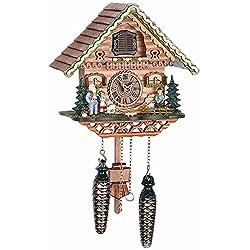 Musical Black Forest Quartz Chalet Style Cuckoo Clock