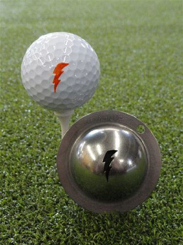 Tin Cup Bolt Golf Ball Marking Stencil, Steel