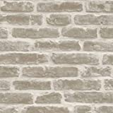 Cheap Natural – J34407 – Rustic Brick Effect – Sculptured Vinyl Wallpaper