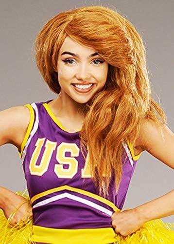 Magic Box Peluca Estilo Ginger Kim para Mujer.: Amazon.es ...