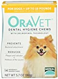 Merial 14 Count Oravet Dental Hygiene Chew for X-Small Dog