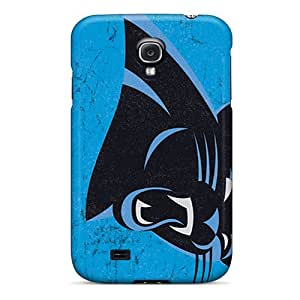 Durable Case For The Galaxy S4- Eco-friendly Retail Packaging(carolina Panthers)