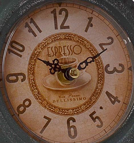 CHICCIE Retro Hierro Reloj como Báscula - Reloj de pie Reloj de Mesa Chimenea Reloj Antiguo Vintage: Amazon.es: Juguetes y juegos